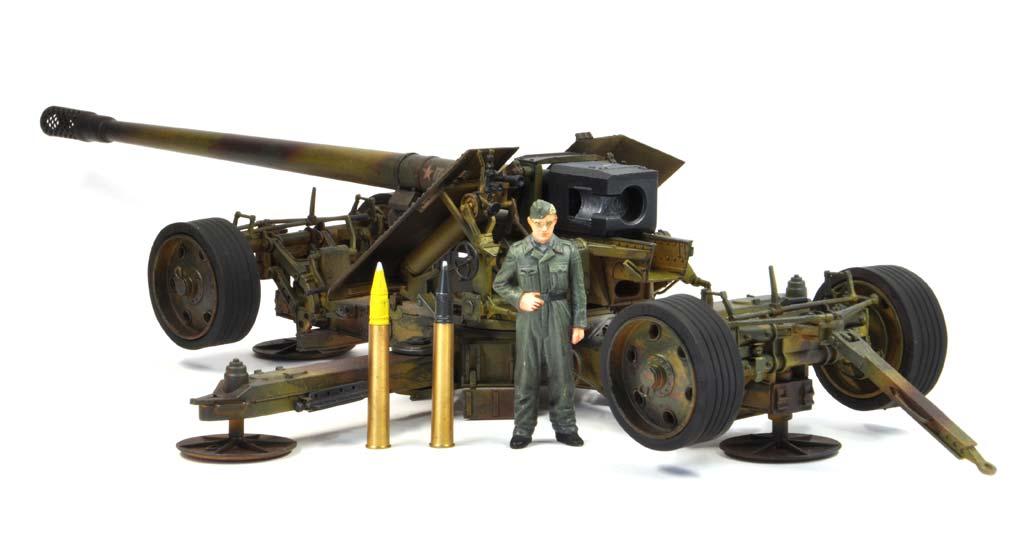 baubericht 12 8 cm kanone 43 44 krupp. Black Bedroom Furniture Sets. Home Design Ideas