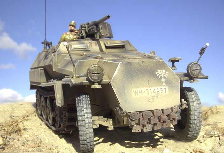 Baubericht Sd Kfz 251 10