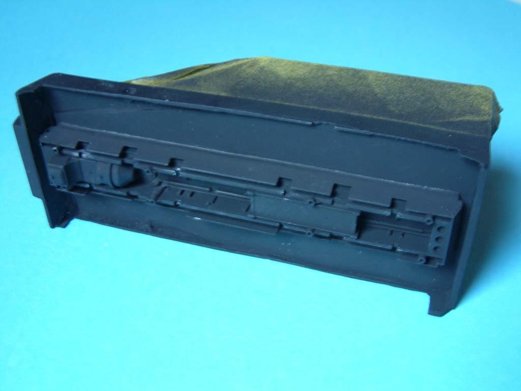 Baubericht - Ballistik-Messfahrzeug auf Sd.Kfz.231