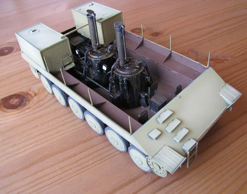 Baubericht - Skoda 20t Dampfschlepper auf verlängertem 38D Fahrgestell