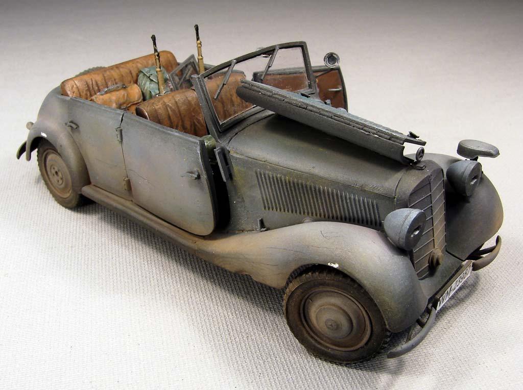 Baubericht - Mercedes Typ 170V