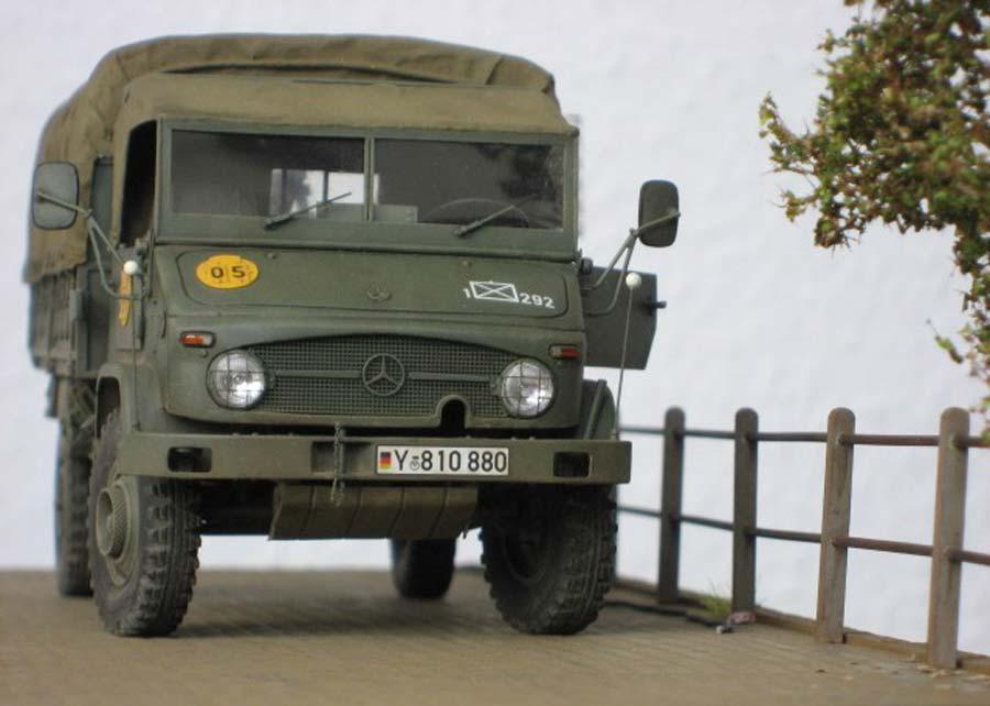 Baubericht - LKW 1,5t Unimog S404