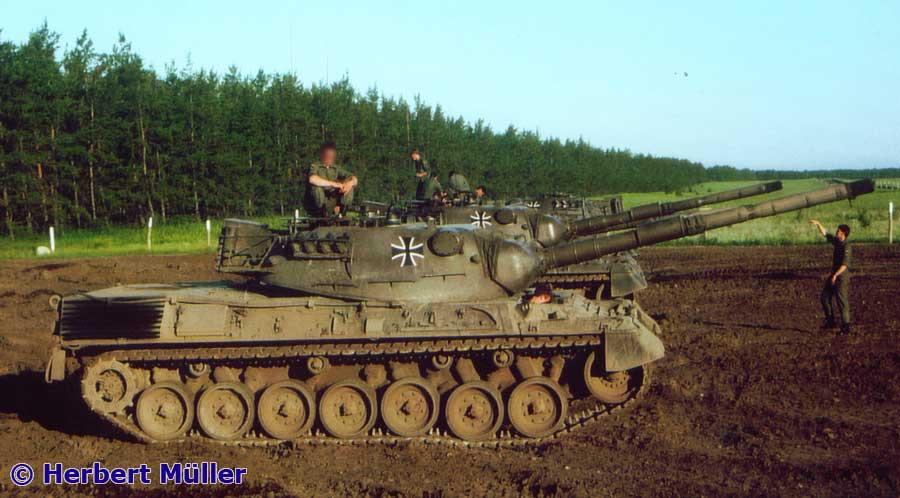 Kampfpanzer Leopard 1 A2