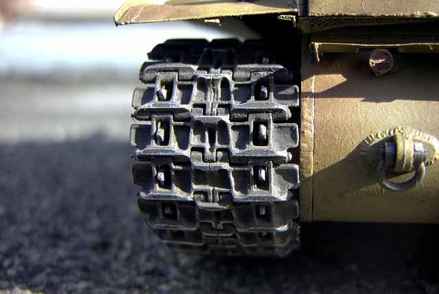 Baubericht - KW-2 als Beutepanzer